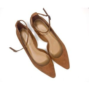 New Charles and Keith Ankle Strap D'Orsay Flats
